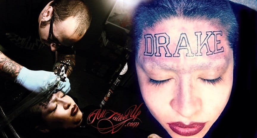 And don't get a love's name tattooed unless you're 100% sure he's for keeps. Unless your love is Drake ;)