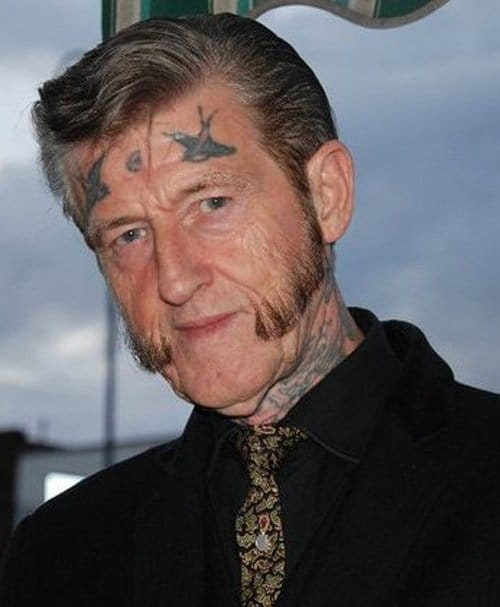 THIS GUY. As seen in our 15 badass tattooed elders article! So awesome!