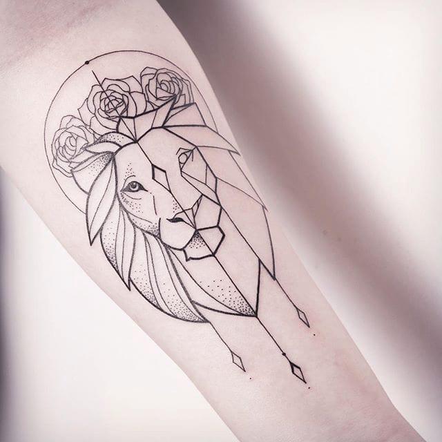 Subtle, Minimalistic Line Tattoos by Melina Wendlandt