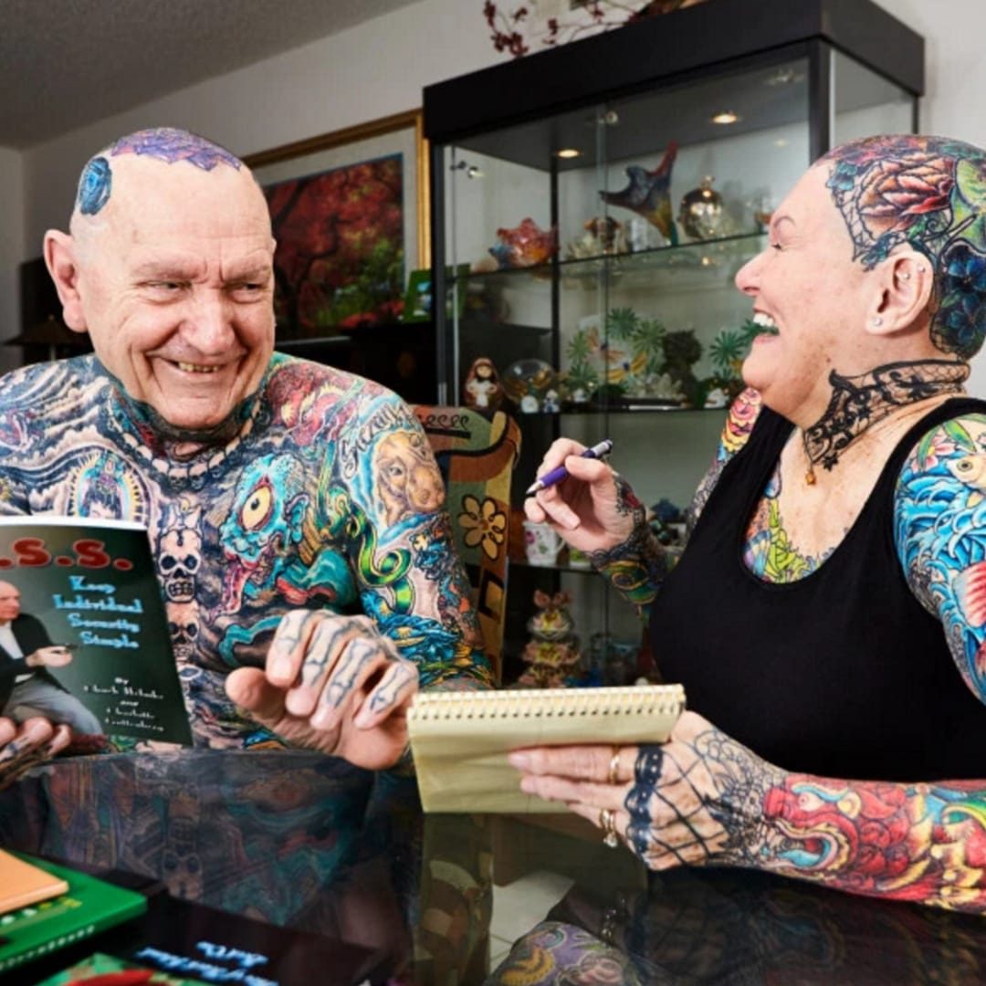 The Two Most Tattooed Seniors Prove You're Never Too Old for Tattoos