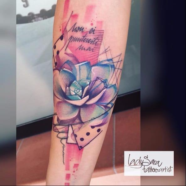 15 Tatuagens De Flores Pra Alegrar Seu Dia