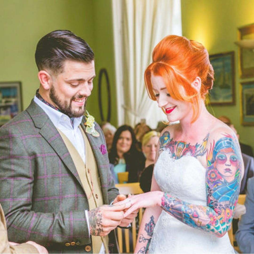 News Flash for Old Fogies: Tattoos Make Weddings Better