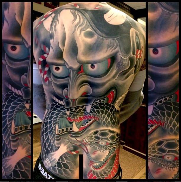 HELL HATH NO FURY: 12 Hannya Tattoos by Mike Rubendall