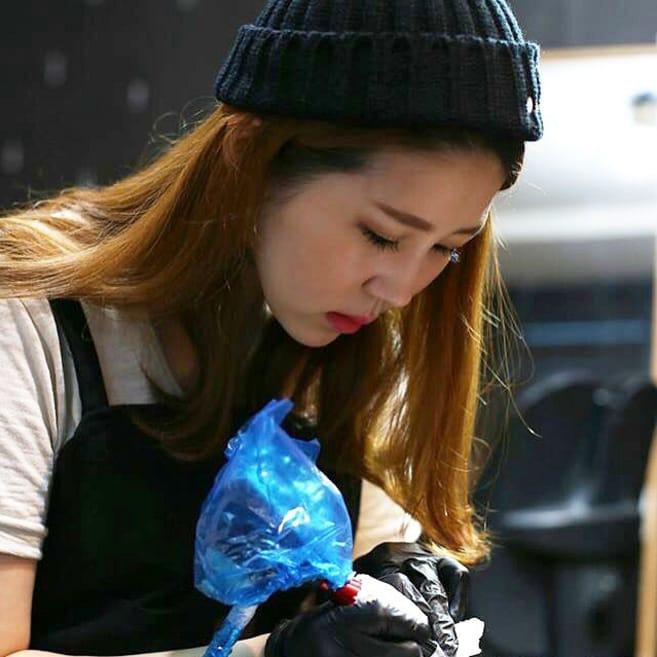Black and Grey Tattoos by Shine aka Shinhye Kim