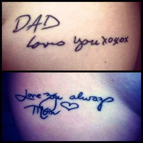 For the love of Mom and Dad.