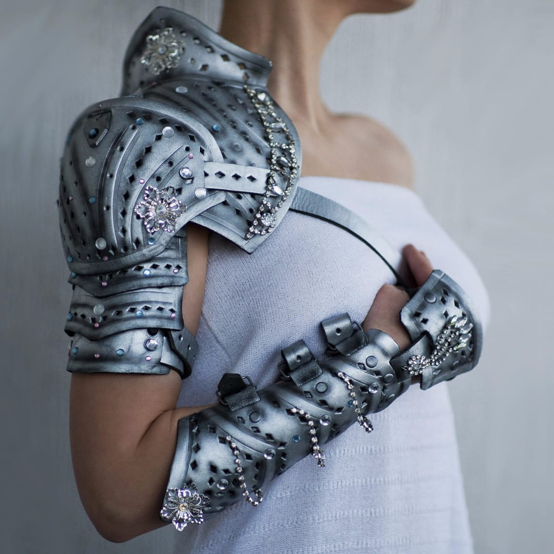 Become a Knight in Shining Armor with these Gauntlet Tattoos!