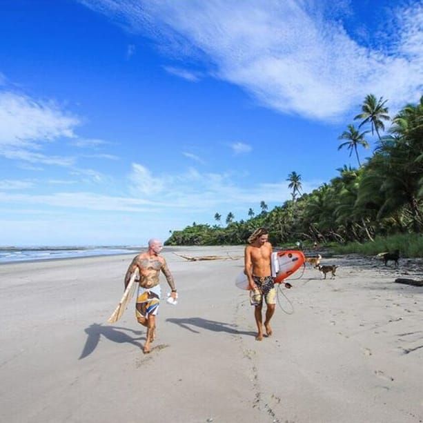 Been Surfing in Costa Rica - Next Stop: London Tattoo Convention