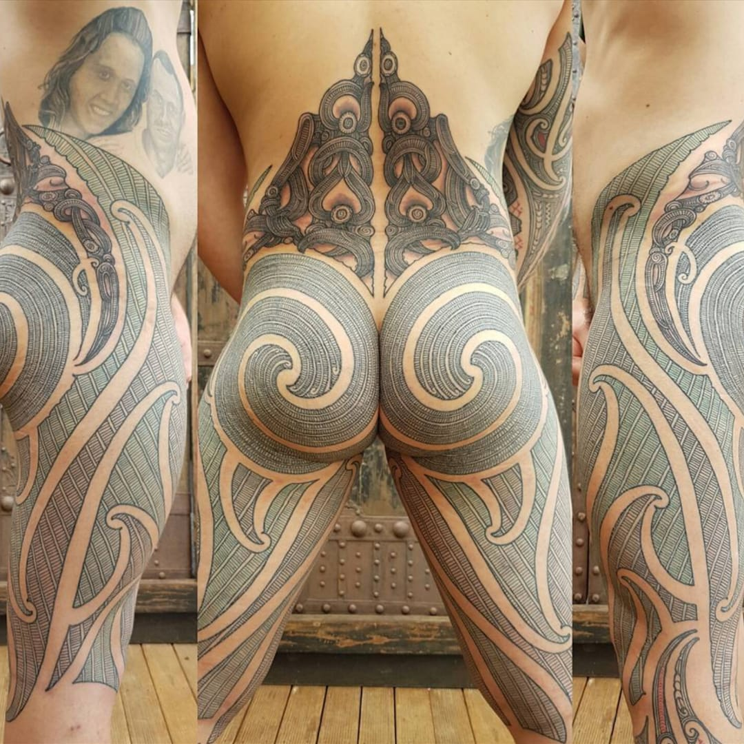 Apparently This Traditional Maori Tattoo Violated Facebook's Standards
