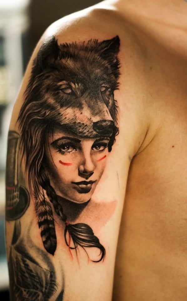 Awesome tattoo by Oscar Akermo