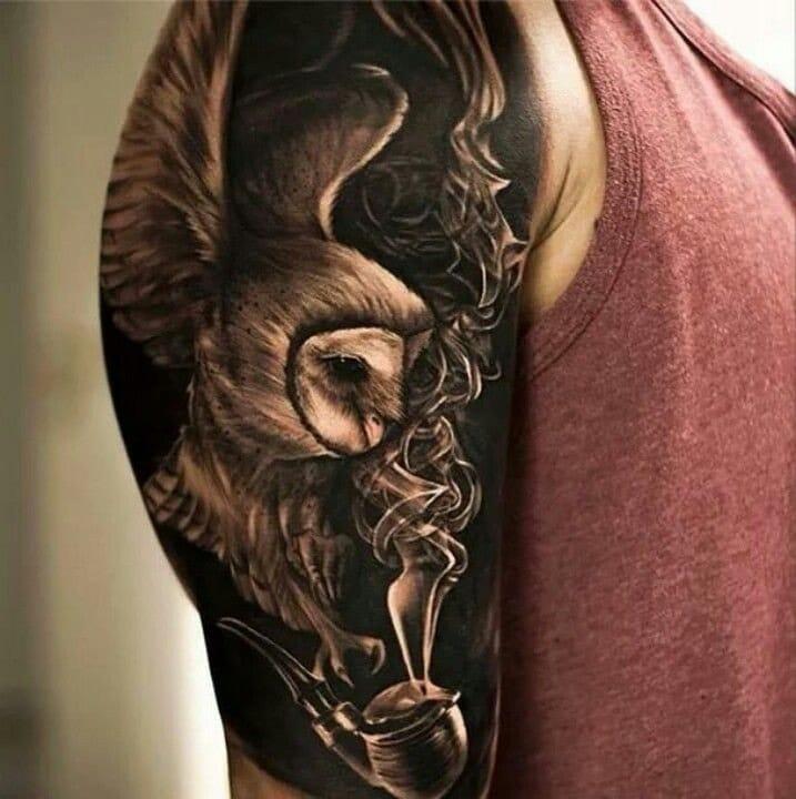 Amazing tattoo by Oscar Akermo