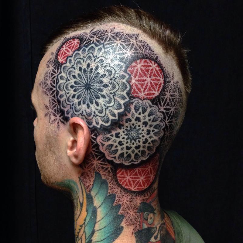 Geometric mandalas by Cory Ferguson.
