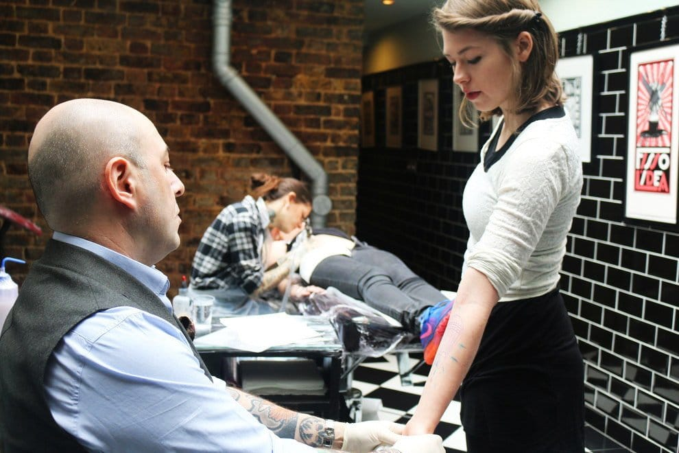 This Is What It's Like Getting A Tattoo