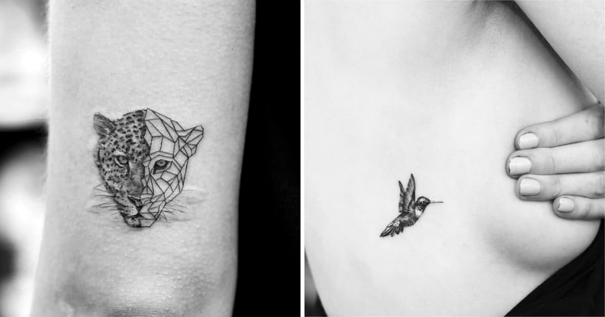 Incredibly Small And Detailed Tattoos By Evan Kim