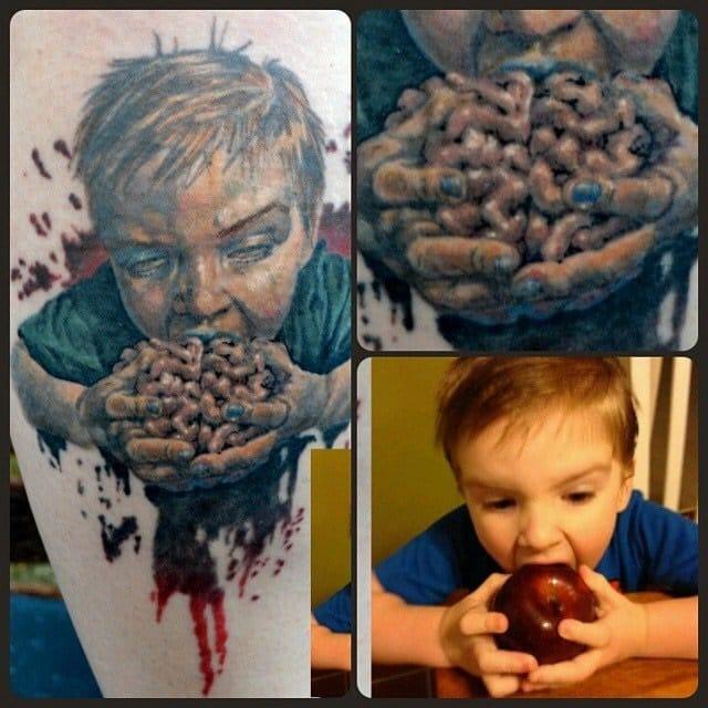 gruesome child