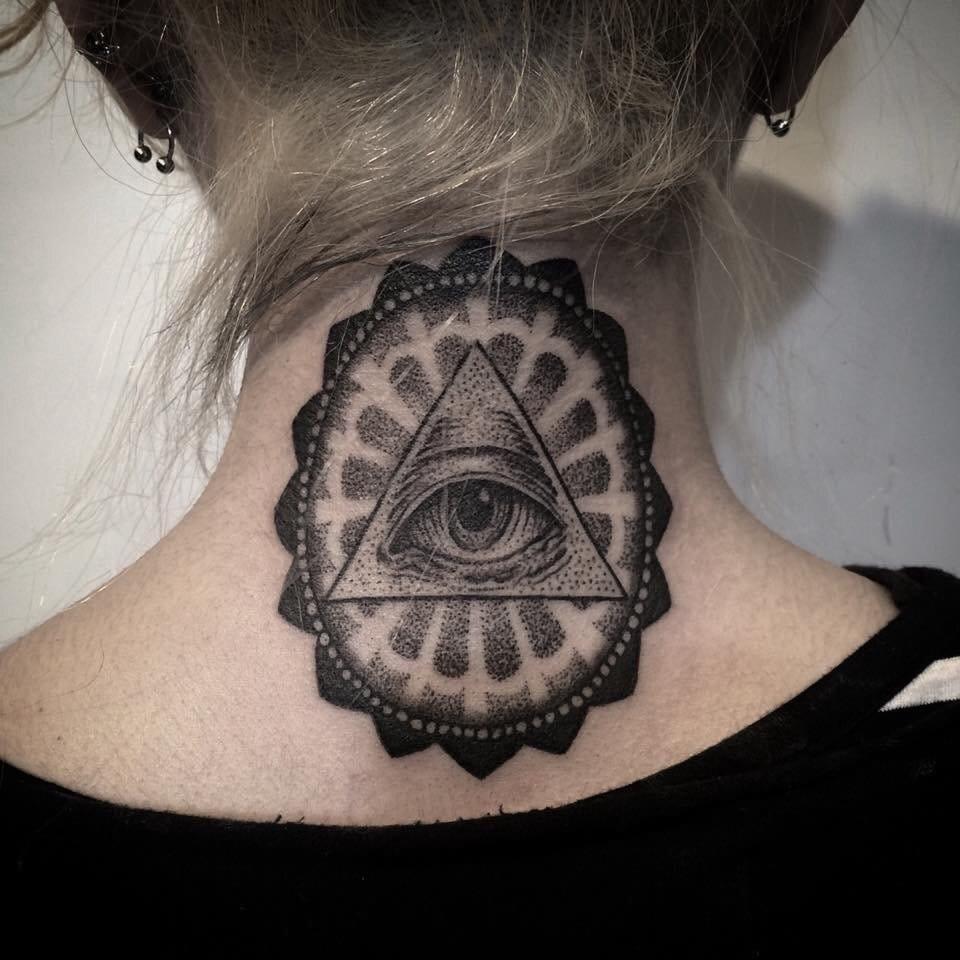 Illuminati inspired tattoo