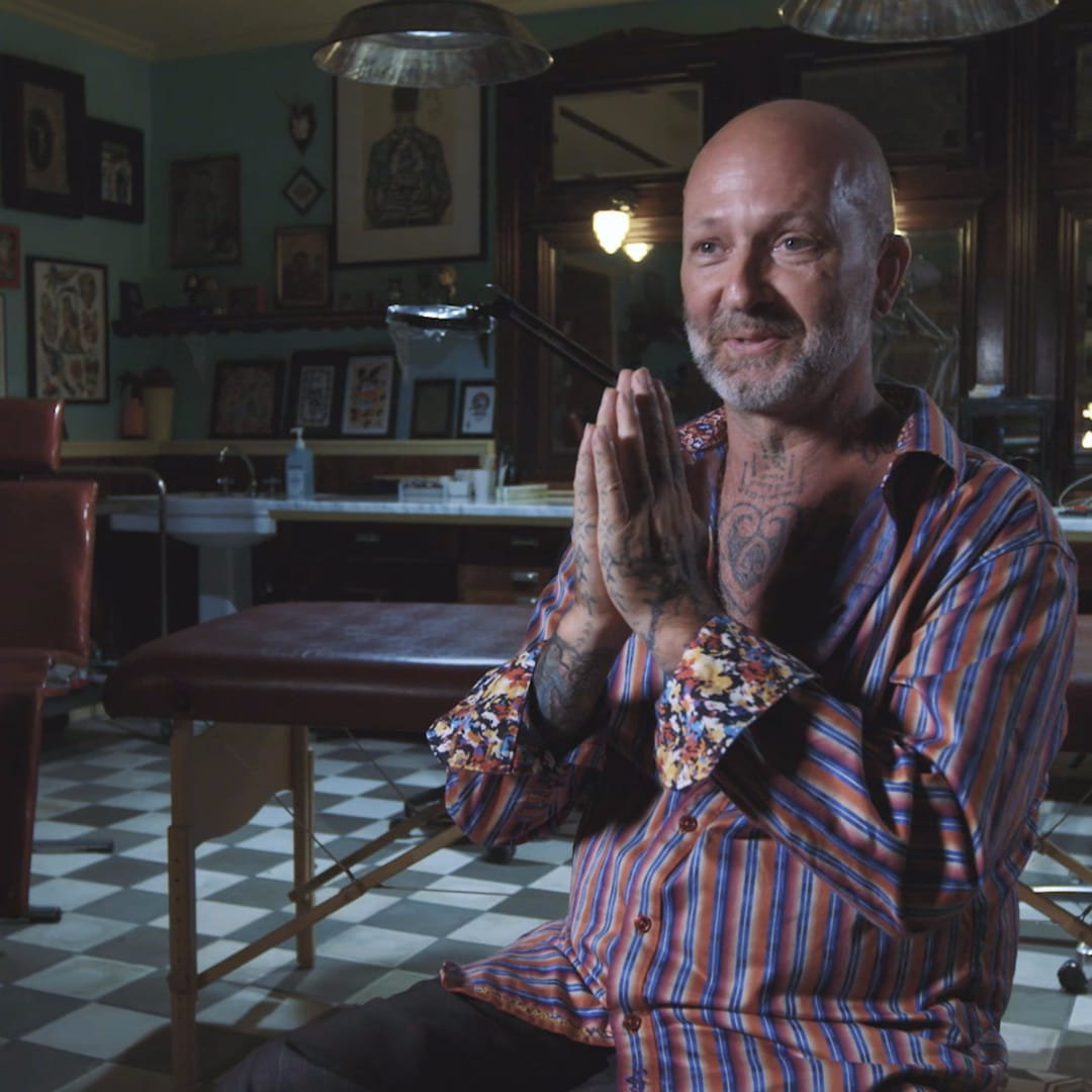 Tattoo Legend: Greg Orie and the Handover of Dragon Tattoo