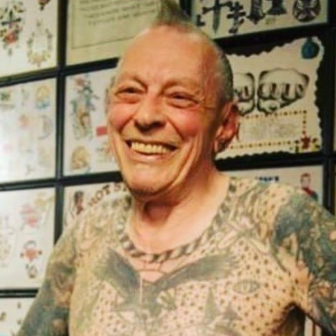 Legendary tattoo pioneer crazy philadelphia eddie dies at for Eddies tattoos philadelphia