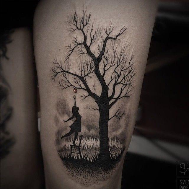 Lovely tattoo by Sven Rayen...