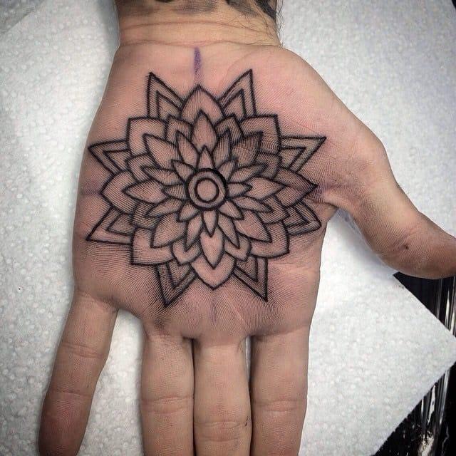 Mandala tattoo. by Carlin Decheff, The Tatt Shop Perth, Australia