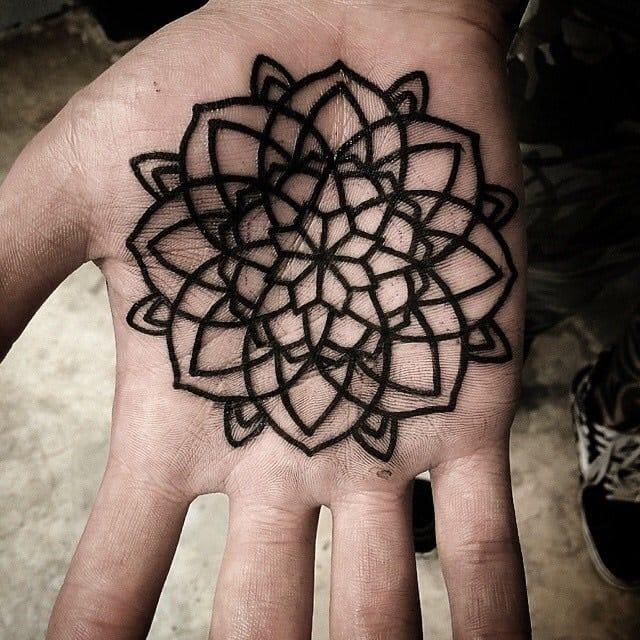 Mandala tattoo. done by rodupfactory of Hybrid Ink Studio.