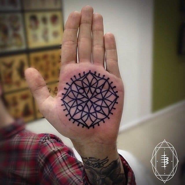 It's a palmdala. by Ben Doukakis of Broadway Tattoos Sydney.