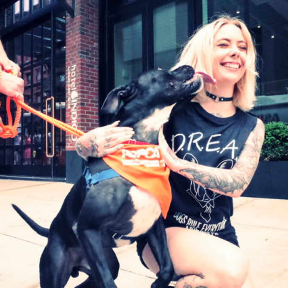 TATS & TAILS: Megan Massacre Teams up with ASPCA for the BEST DAY EVER