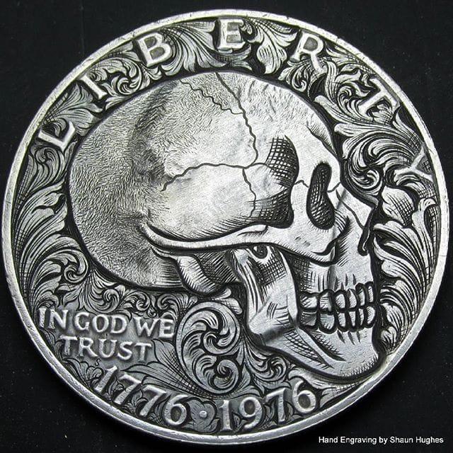 Mesmerizing Coin Engravings by Shaun Hughes
