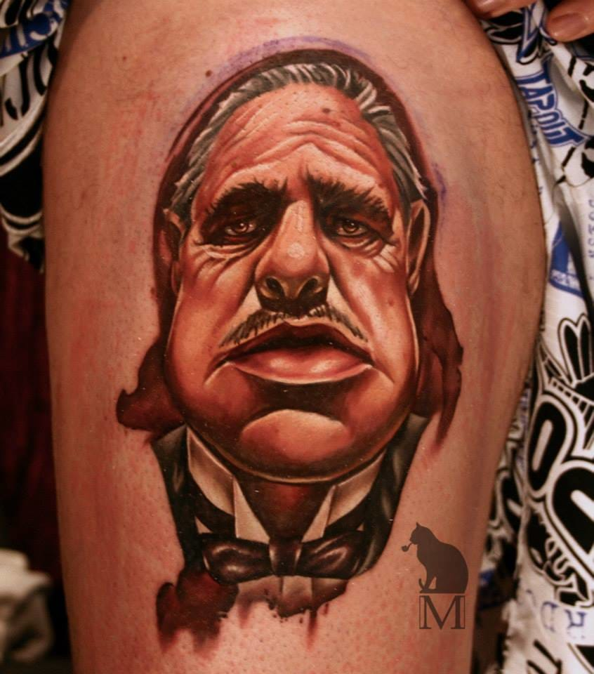 Also by Maurycy, a cool Don Vito!