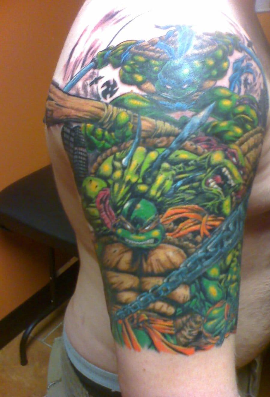 Brilliant half sleeve by Hiroxx
