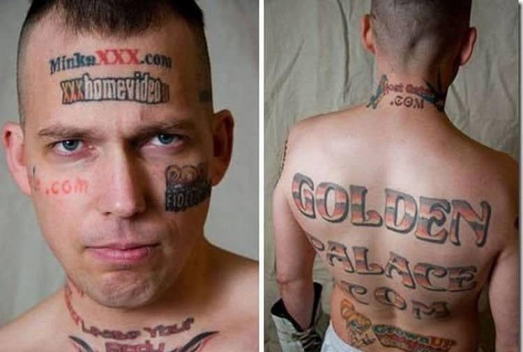 Skinvertiser tattoos