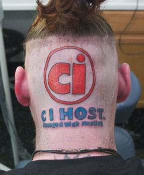 CI Host advertising