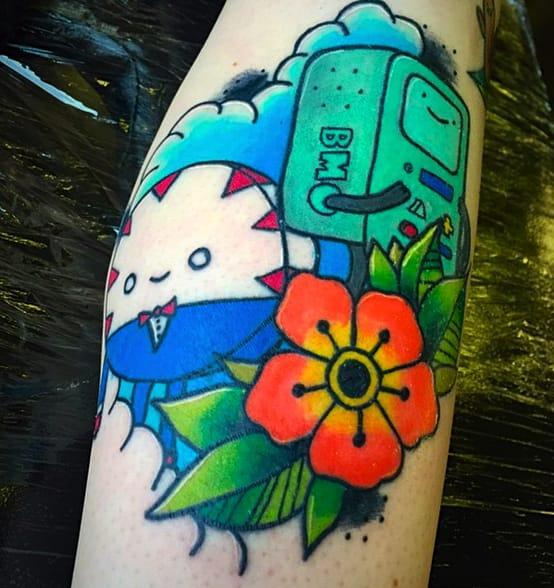 Peppermint Butler tattoo by Matt Daniels