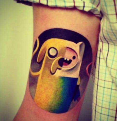 32 Adventure Time Tattoos Tattoodo