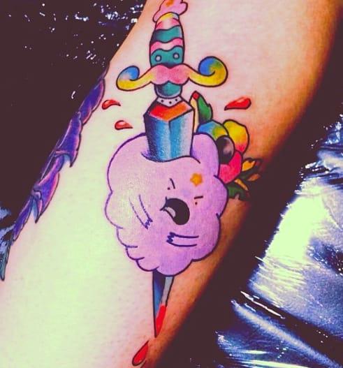 Lumpy Space Princess tattoo