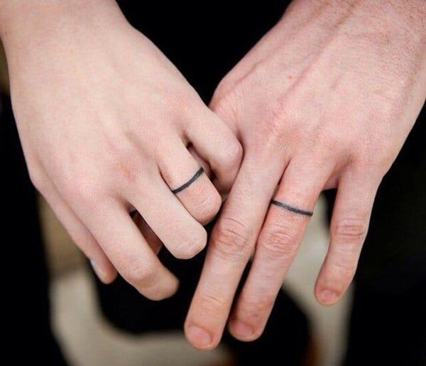 10 Sweet & Lasting Wedding Ring Tattoos