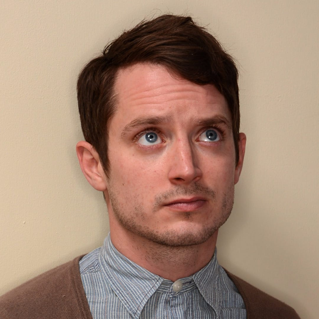Elijah wood reveals his tattoos on the late show with for Elijah wood tattoo
