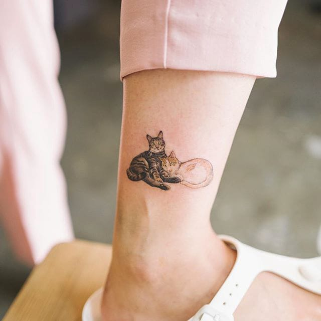 Micro Pet Portrait Tattoos for all You Animal Lovers out There