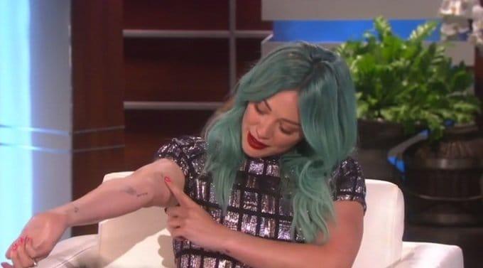 Hilary Duff on The Ellen Show