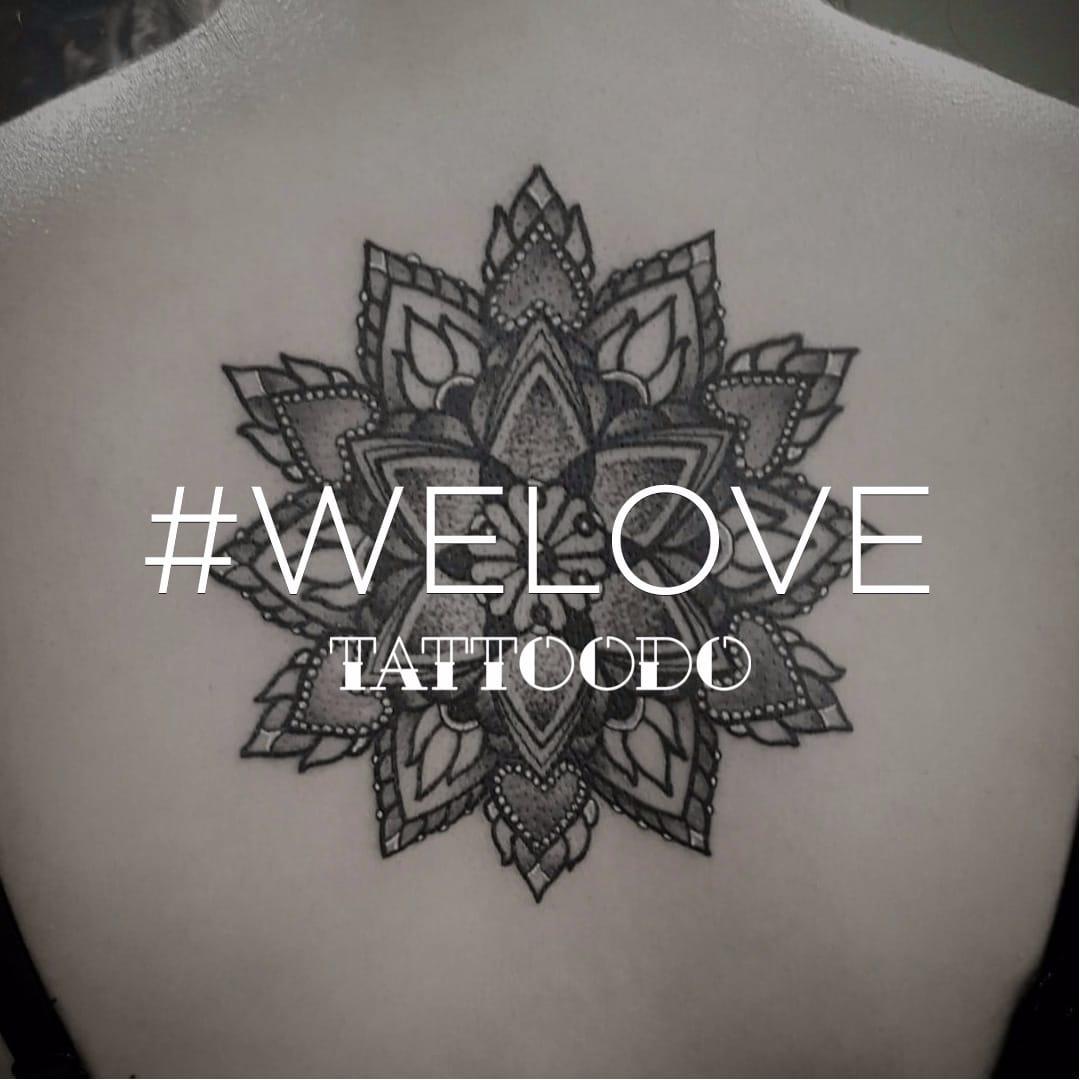 Gorgeous Mandala Tattoos #welove in the Tattoodo App!