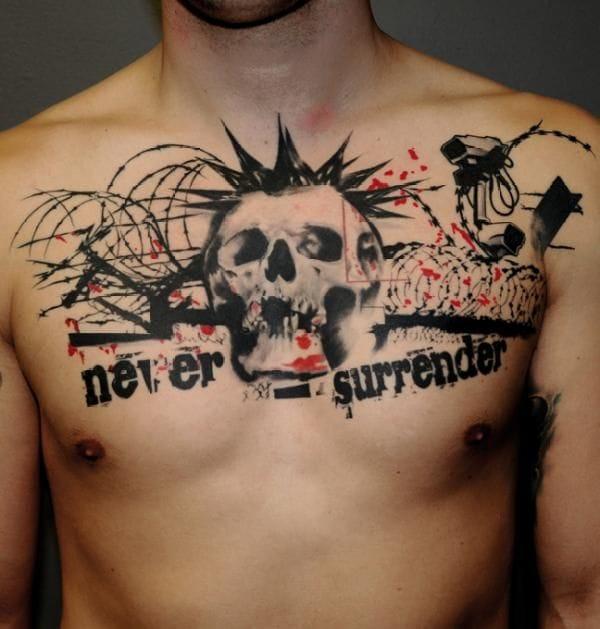 15 badass punk rock tattoos tattoodo. Black Bedroom Furniture Sets. Home Design Ideas