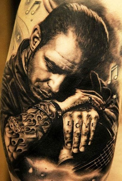 Great portrait by Andy Engel of Social Distortion's leader Mike Ness.