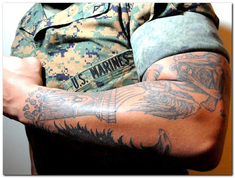 U.S Army Relaxes Tattoo Policy
