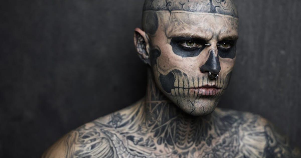 Rick Genest, modelo más conocido como Zombie Boy, fallece
