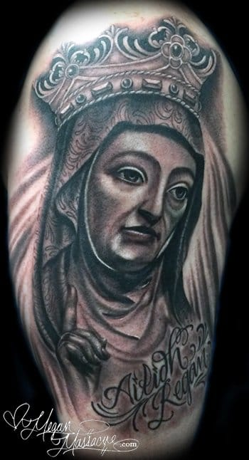 Saint Anne tattoo