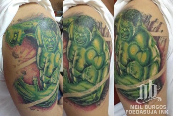 Neil Burgos caught Hulk at his finest here