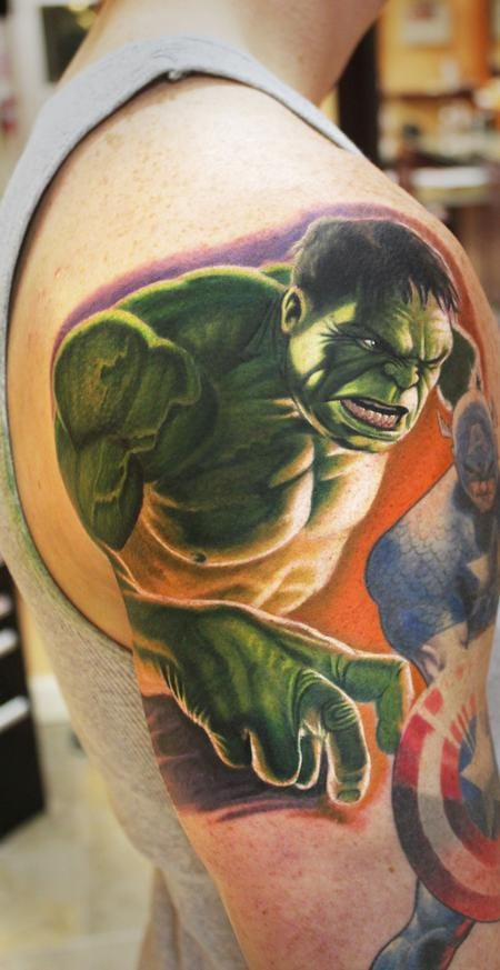 Steve Wimmer did this great bit of ink