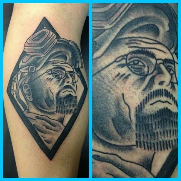 Fantastic Walter White Tattoo by Steve Rieck