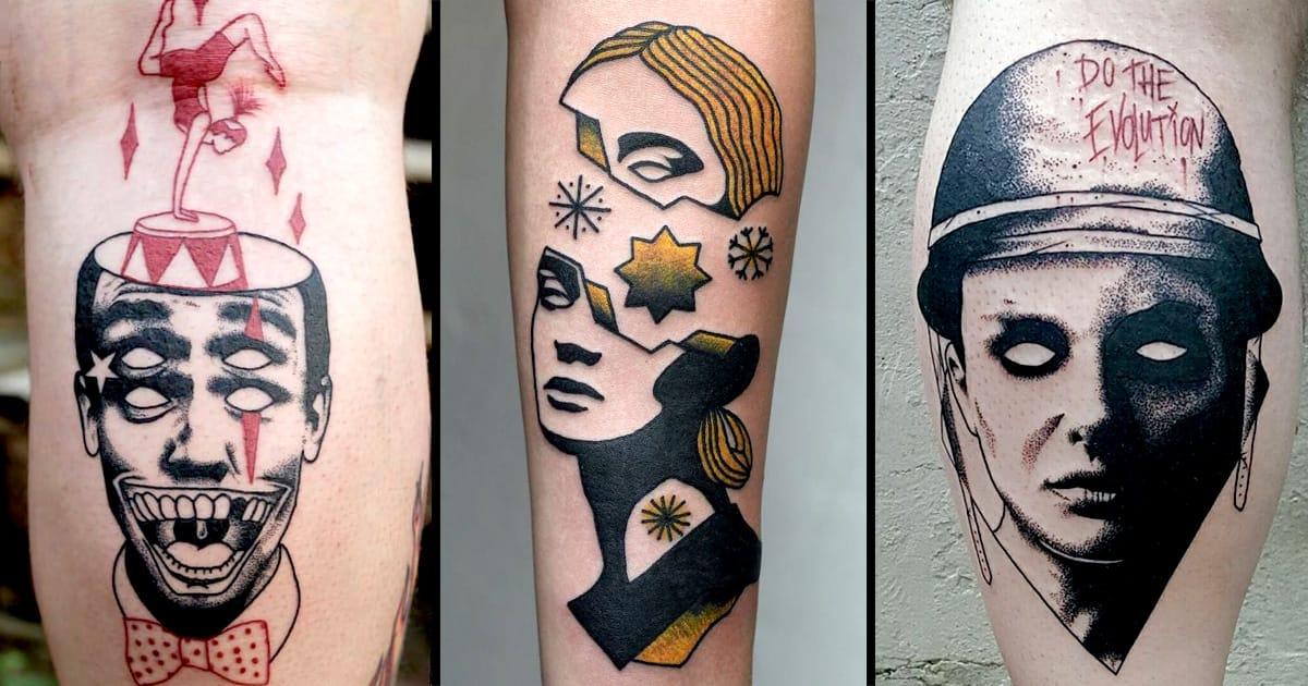 rad contemporary tattoos by edgar lanz tattoodo. Black Bedroom Furniture Sets. Home Design Ideas