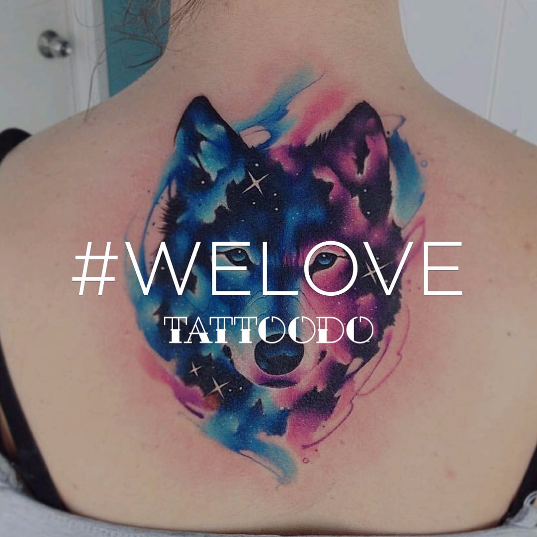 Watercolor Tattoos that #WeLove and You Will Too