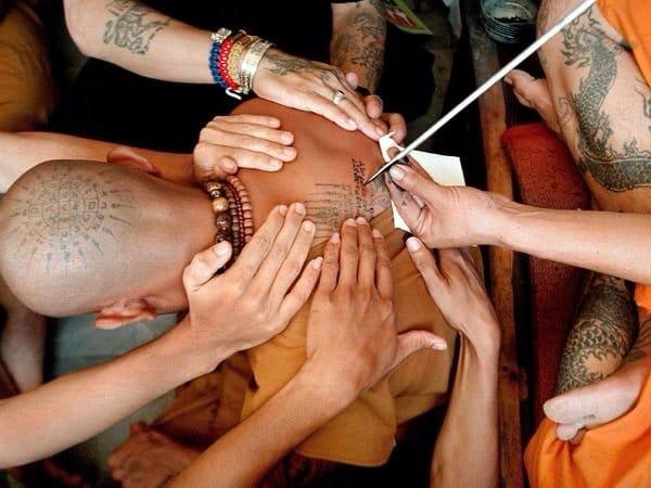 Spiritual Trance & Magical Tattoos At The Annual Thai Tattoo Festival